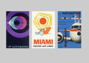 "The New York Times reviews ""Airline Visual Identity 1945-1975"""