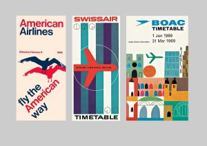 "The Wall Street Journal Japan reviews ""Airline Visual Identity 1945-1975"""