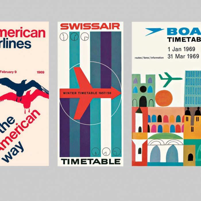 """The Wall Street Journal reviews """"Airline Visual Identity 1945-1975"""""""
