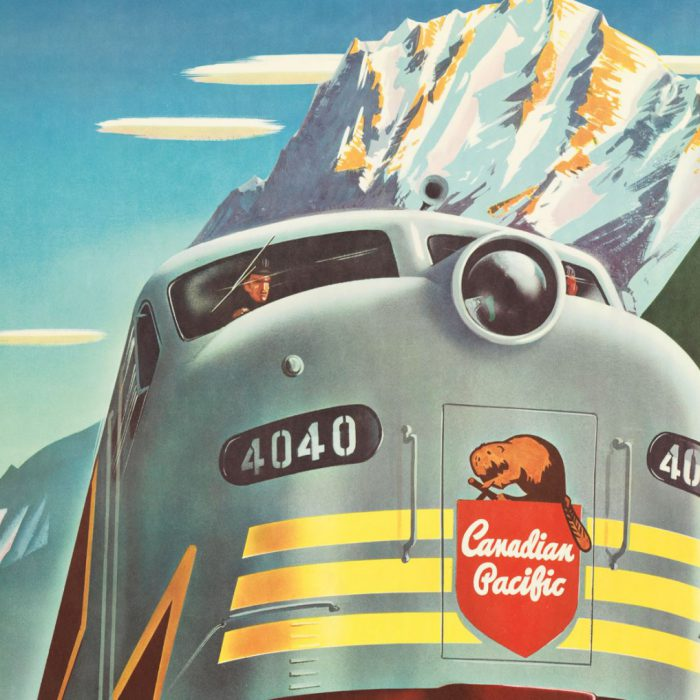 """Welt am Sonntag reviews """"Canadian Pacific: Creating a Brand, Building a Nation"""""""