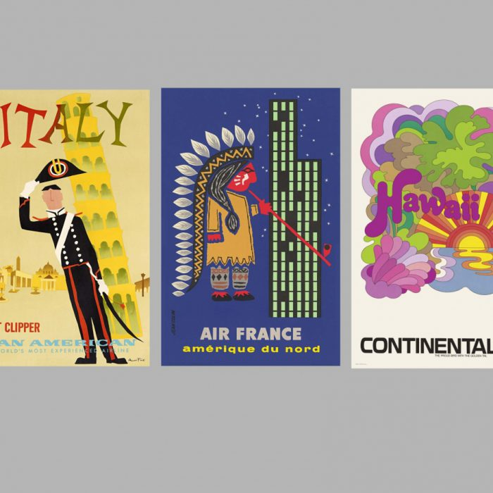 "Vienna's Die Presse reviews ""Airline Visual Identity 1945-1975"""