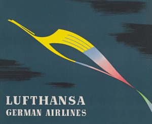 "Lufthansa selects our book ""Airline Visual Identity 1945-1975"" as cover story of its December 2014 in-flight magazine"
